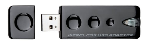 Freecom MediaPlayer II W-LAN Adapter (USB 2.0) schwarz