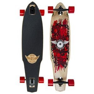 Mindless Creeper Longboard - Red ML6500