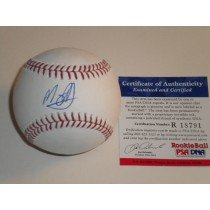 Manny Machado Baltimore Orioles Autographed Signed Baseball PSA DNA ROOKIE COA