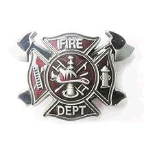 Fire Department Fireman Firefighter Belt Buckle