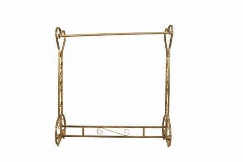 Brand New Free Standing Decorative Antique Bronze Iron Garment Coat Rack (Y020C) 4