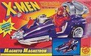 The Uncanny X-Men Evil Mutant Magneto Magnetron Vehicle - Catapult Launches Metallic Disks - 1