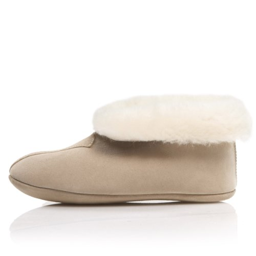 Image of Dominion 'Greta' Women's Shearling Slippers Made In New Zealand (B003YYC75U)