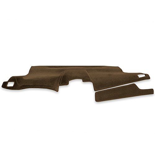 Coverking Custom Fit Dashcovers for Select Chevrolet S10 Models - Velour (Beige) (93 S10 Dash Cover compare prices)