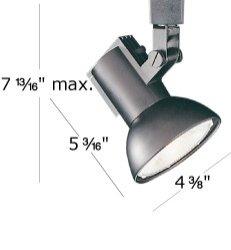 Wac Lighting Ltk-774-Bn L Series Line Voltage Track Head