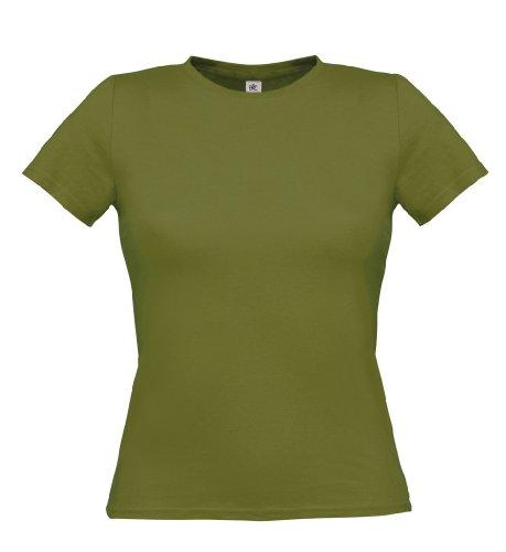 T-Shirt 'Women Only', Farbe:Green Moss;Größe:M M,Green Moss