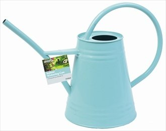 Duck Egg Blue Metal Indoor Watering Can