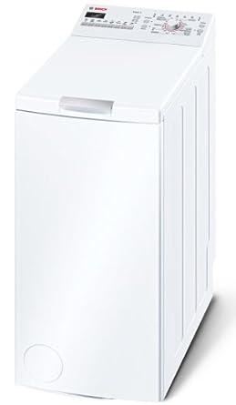 Bosch WOT24254 Waschmaschine Toplader / A+ B / 1200 UpM / 6 kg / Weiß / Startzeitvorwahl / Bügelleicht