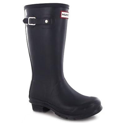 Boys' Designer Hunter Navy Wellington Boots Discount Shopping