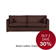 Medbourne Large Sofa - Leather