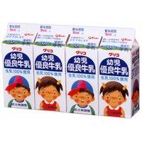 グリコ 幼児優良牛乳4P 6パック