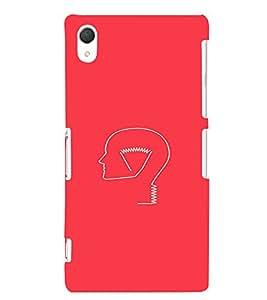 EPICCASE Let's Think Mobile Back Case Cover For Sony Xperia Z2 (Designer Case)