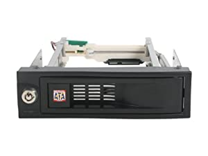 Rosewill 5.25Inch SATA Trayless Hot Swap Mobile Rack for 3.5Inch SATA I/II/III HDD Components Other RX-C525 Black