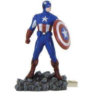 MARVEL AVENGERS MR-Z08GCAM-C USB Drive (Captain America; 8GB) from MARVEL AVENGERS
