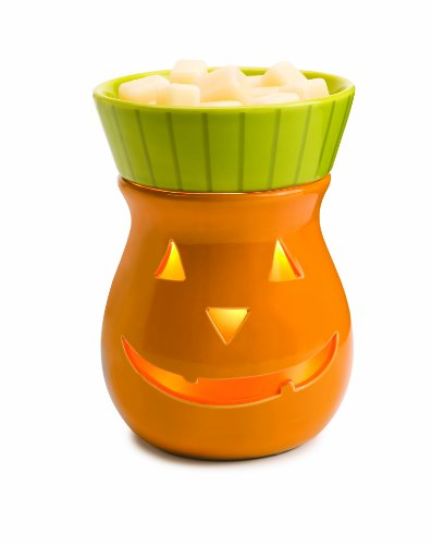 Candle Warmers Etc. Holiday Illumination Fragrance Warmer, Jack-o-Lantern
