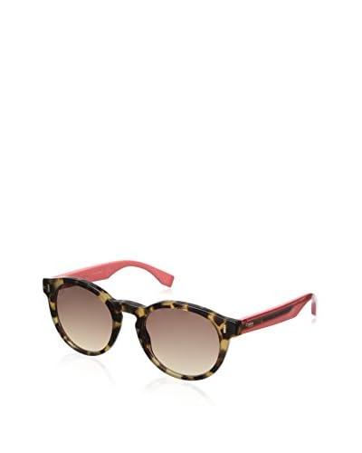 Fendi Women's 0085/S Sunglasses, Havana Honey Cherry
