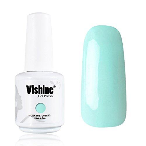Vishine-Gelpolish-Gel-Nail-Polish-Lacquer-Shiny-Color-Soak-Off-UV-LED-Professional-Manicure-Turquoise1594