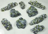 Granite Rubble Set Miniature Terrain