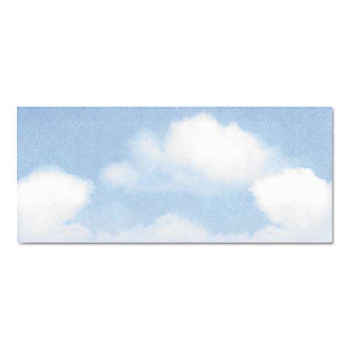 Geographics - Design Envelope, Blue Clouds, 4 X 9 1/2, 50/Bx 47371S (Dmi Pk