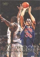 Eric Montross New Jersey Nets 1997 Fleer Autographed Hand Signed Trading Card. by Hall+of+Fame+Memorabilia