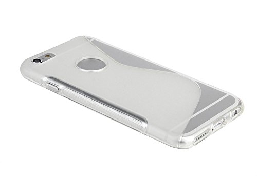 Clear-S-Line-Wave-Coque-arrire-en-gel-TPU-souple-pour-Apple-iPhone-6-Coque