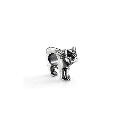 charm pandora wolf