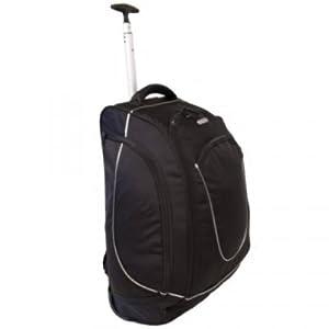 Urban Sport Medium 48 Litres Wheeled Backpack Black