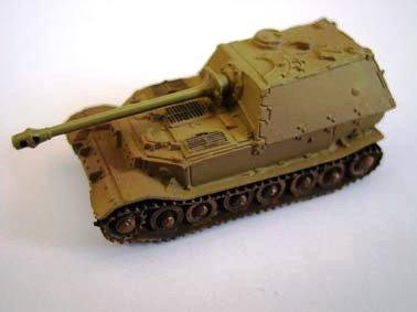 ドイツ軍 エレファント 重駆逐戦車 (88ミリ高射砲搭載突撃砲) 単色迷彩(ダークイエロー)
