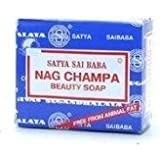 Nag Champa: Sai Baba Natural Soap, Large 150 Gram, 5 oz (4 pack)