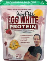 Jay Robb Egg White Protein Strawberry -- 24 oz