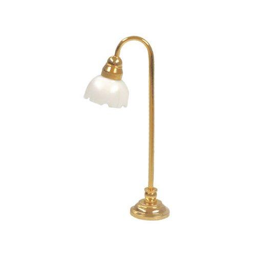 "Dollhouse Miniature 1/2"" Tulip Floor Lamp"