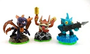 Skylanders Spyros Adventure LOOSE Spyro, Trigger Happy, & Gil Grunt Set - 1