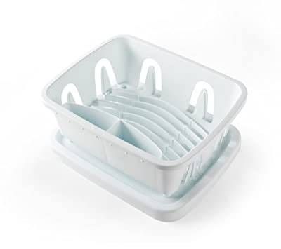 Camco 43511 Mini Dish Drainer and Tray