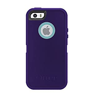 OtterBox iPhone 5/5s/SE Defender with Belt Clip/Holster in Retail Packaging - Purple