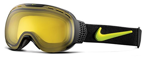 Nike Command Snow Goggles - Black / Cyber Transitions