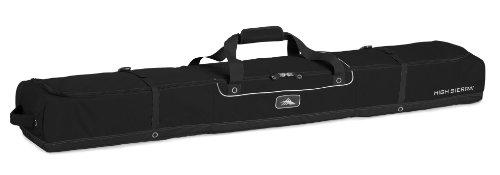 High Sierra Deluxe Double Ski Bag Ski Bag, Black - Partial Padded 185Cm