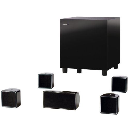 Packs enceintes Home cinema JAMOHIFI PACKA102HCS6BNOIR5.1