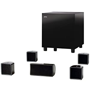 Jamo A 102 HCS-6 5.1 Heimkinosystem (200 Watt) schwarz
