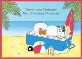 Hawaiian Christmas Boxed Cards Mele