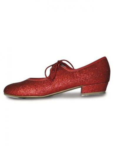 Roch Valley Dorothy Ruby Glitter Tap Shoes