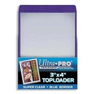 Ultra-Pro Blue Top Loaders - 25 Per Pack (Quantity of 200)