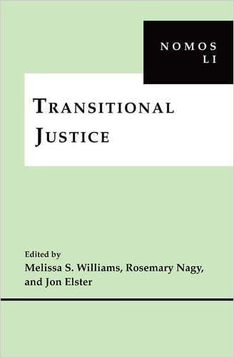 Transitional Justice: NOMOS LI (Nomos (Hardcover))