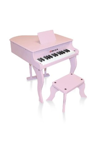 piano queue rouge pour enfant avec tabouret frais de port inclus piano buy online free. Black Bedroom Furniture Sets. Home Design Ideas