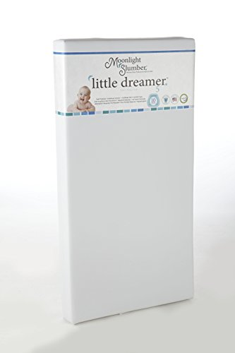 Buy Cheap Moonlight Slumber Little Dreamer Dual Firmness All Foam Crib Mattress
