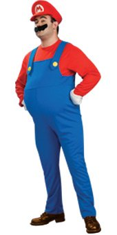 Super Mario-Deluxe Adult Mario-Official Licensed-Small