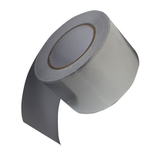 """Aluminum Foil Adhesive Tape - 3"""" x 55yds (76mm x 50m) Silver (3 inch)"""