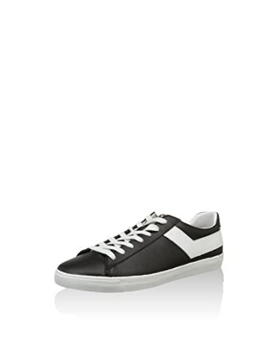 Pony Zapatillas Topstar Ox Leather Blanco / Negro