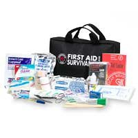 First Aid Only First Aid Survival Kit, 168-Piece Kit