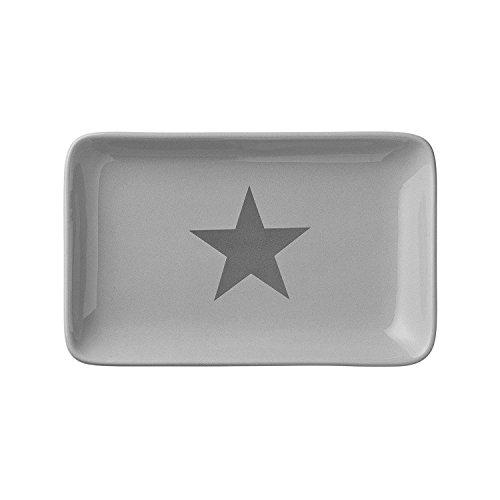 Bloomingville Tablet Stern, grau (19x12cm)