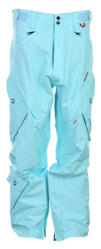 B002NRWSOY Foursquare Q Snowboard Pants Keep Cool Men's Sz Large